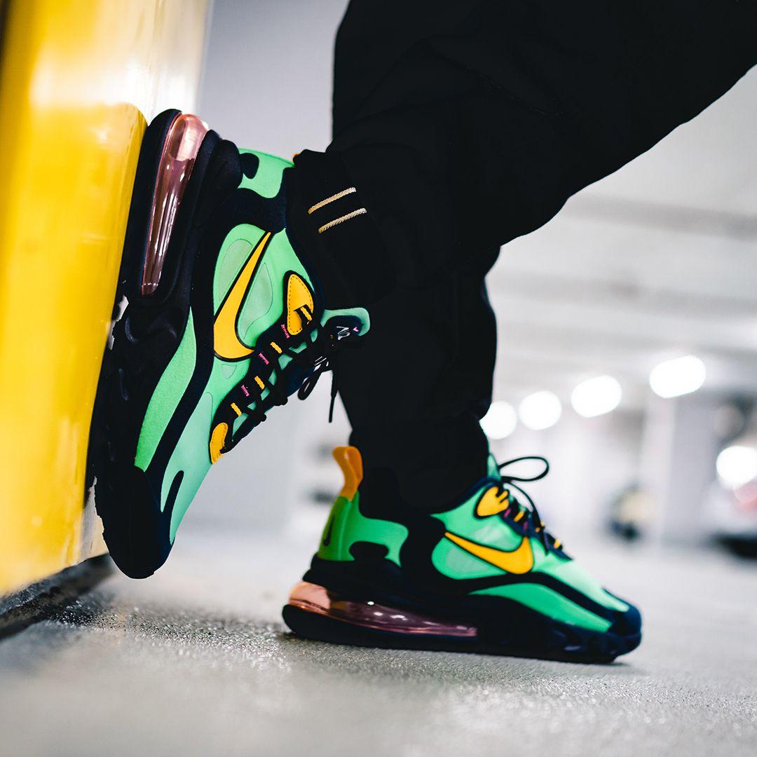 Nike Air Max 270 React Chaussures AO4971 300 | Vert