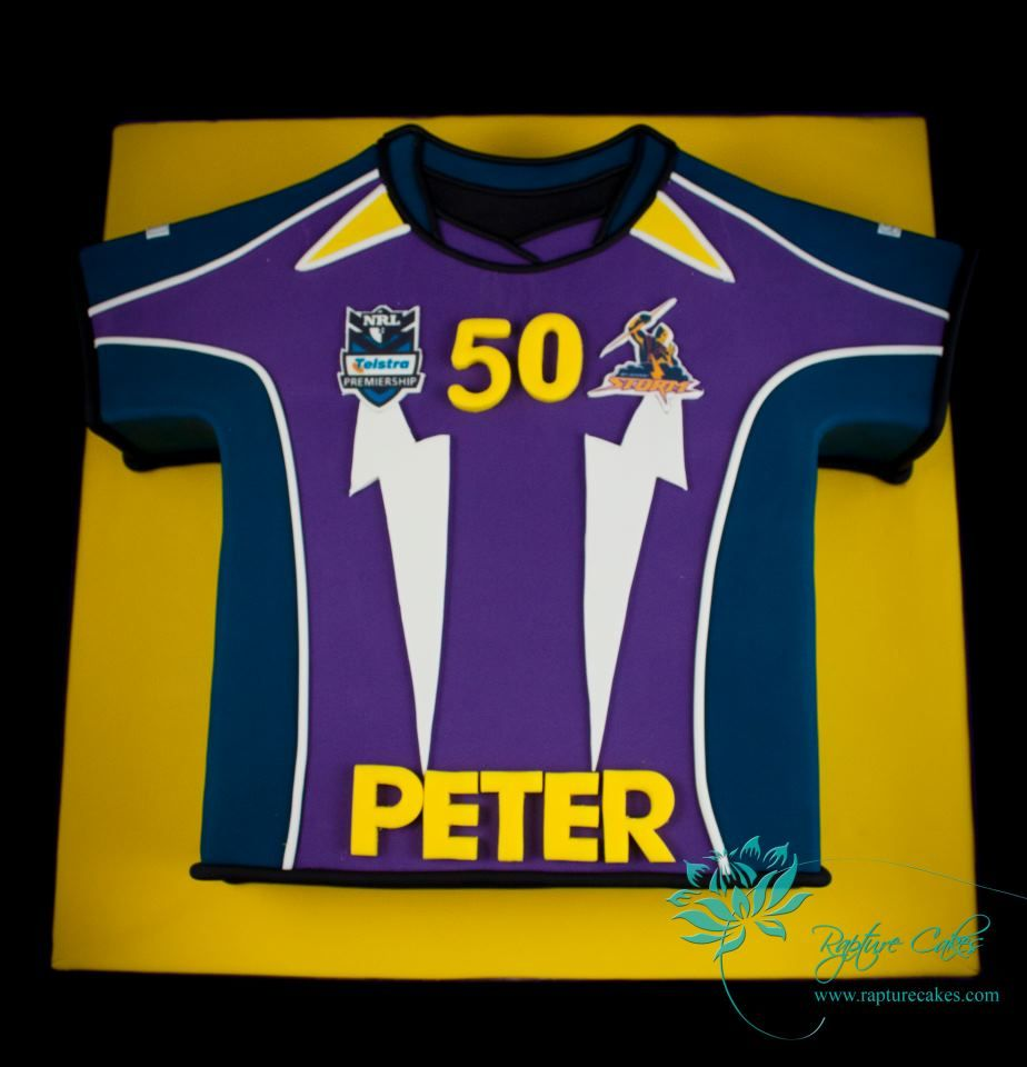 Melbourne Storm Cake Adult Birthday Cakes Pinterest