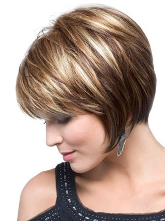Rocking An Inverted Bob Haircut With Bangs - Renewed Style | Hair ...