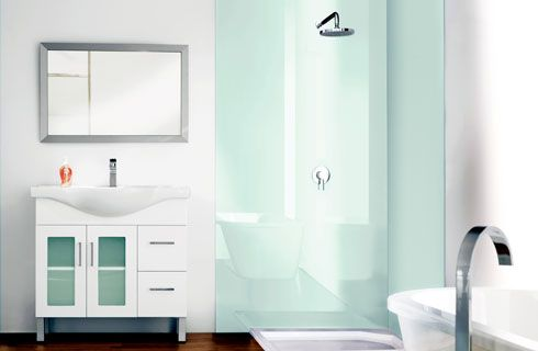 Project Files Alternatives To Solid Surface Shower Walls Shower Wall Bathroom Shower Walls Shower Wall Panels