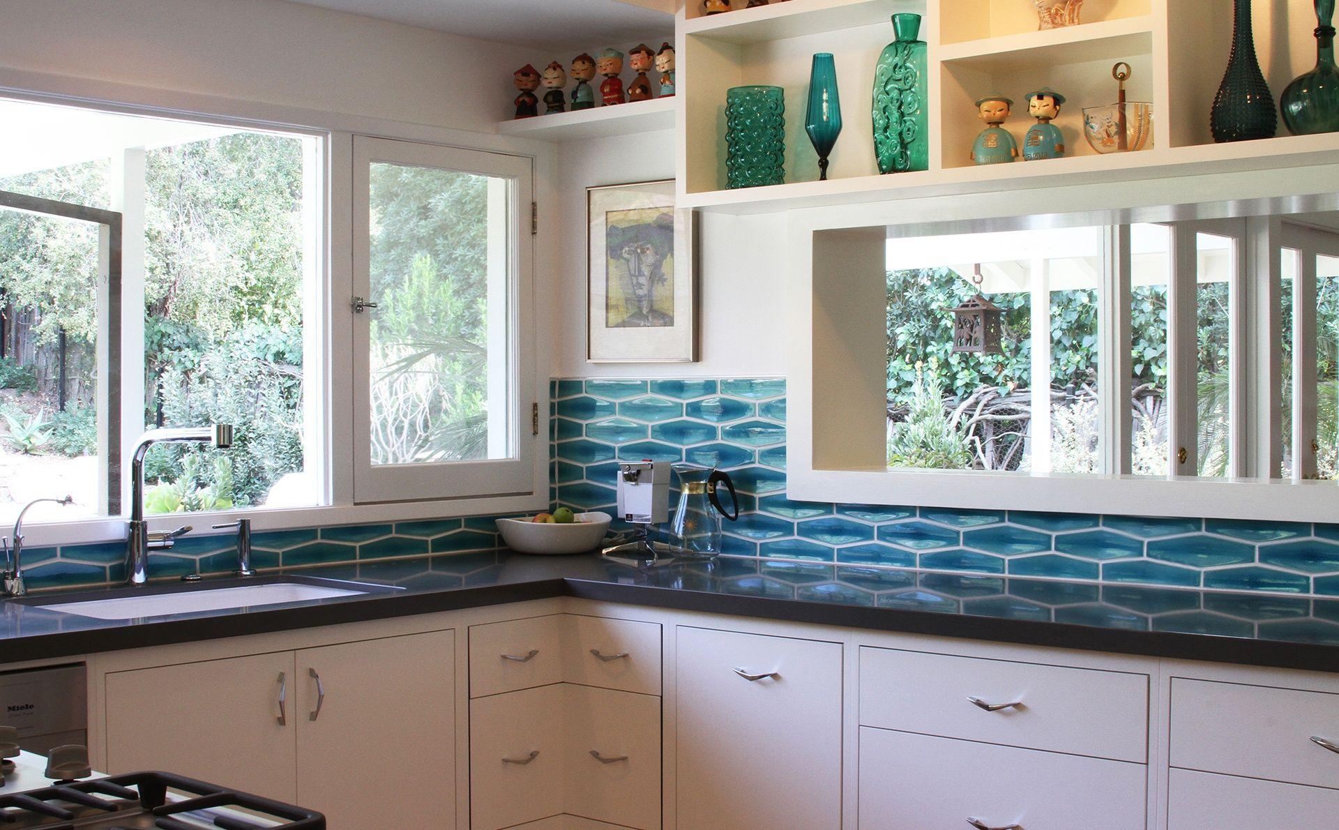 Mid Century Modern Kitchen Backsplash Tile Mid Century