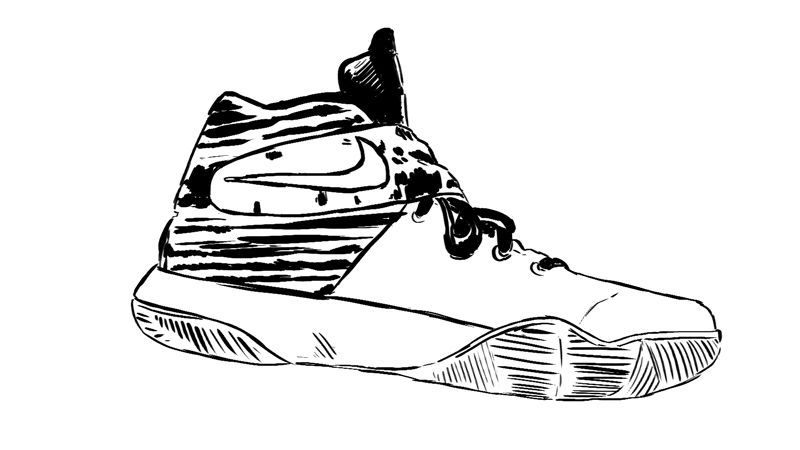 Kyrie Shoes Coloring Pages on a budget