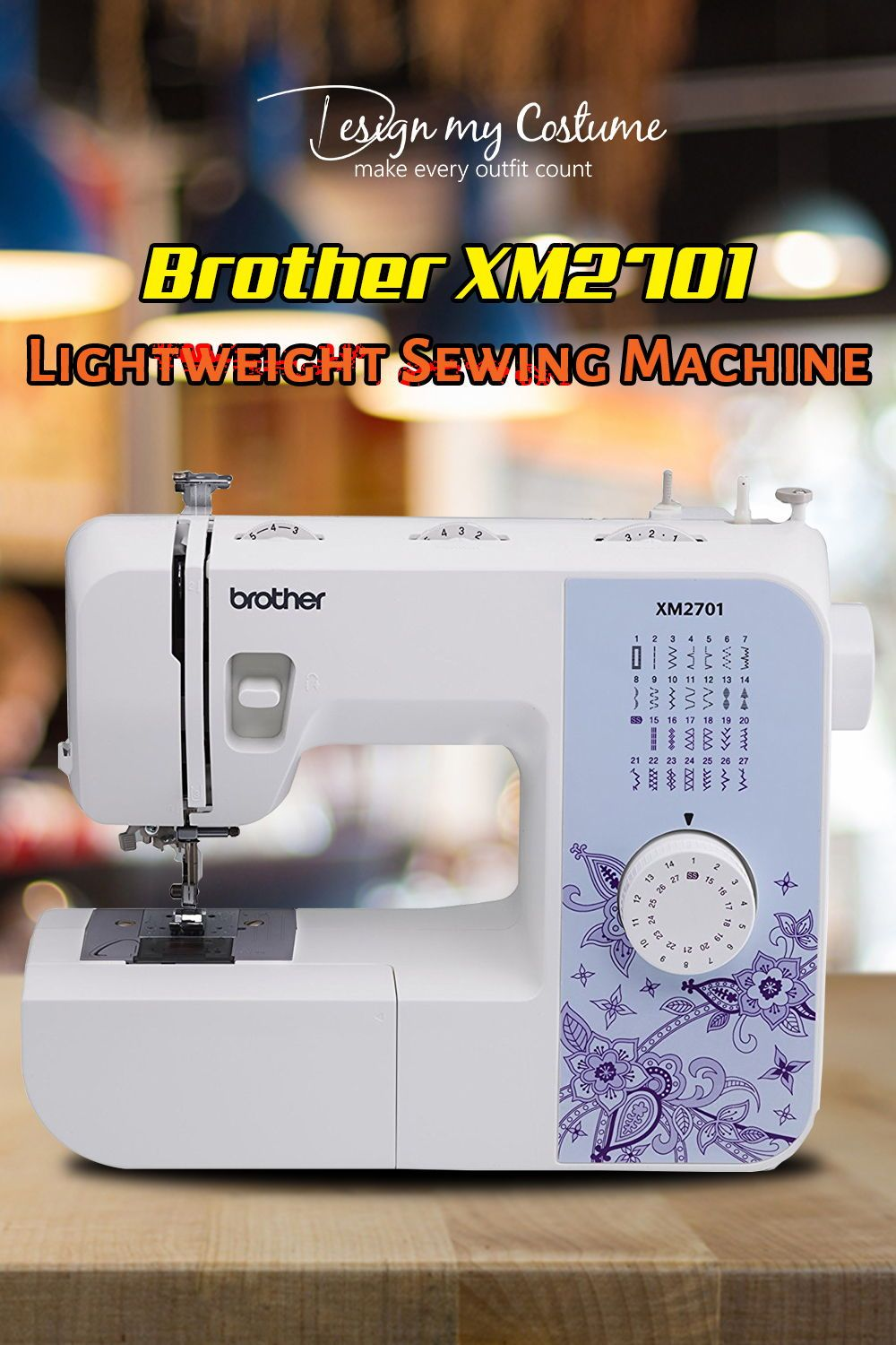 Brother Xm2701 Lightweight Sewing Machine Comparison Chart And Embroidery