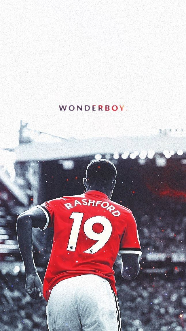 Wonderboy Marcus Rashford Manchester United Wallpaper