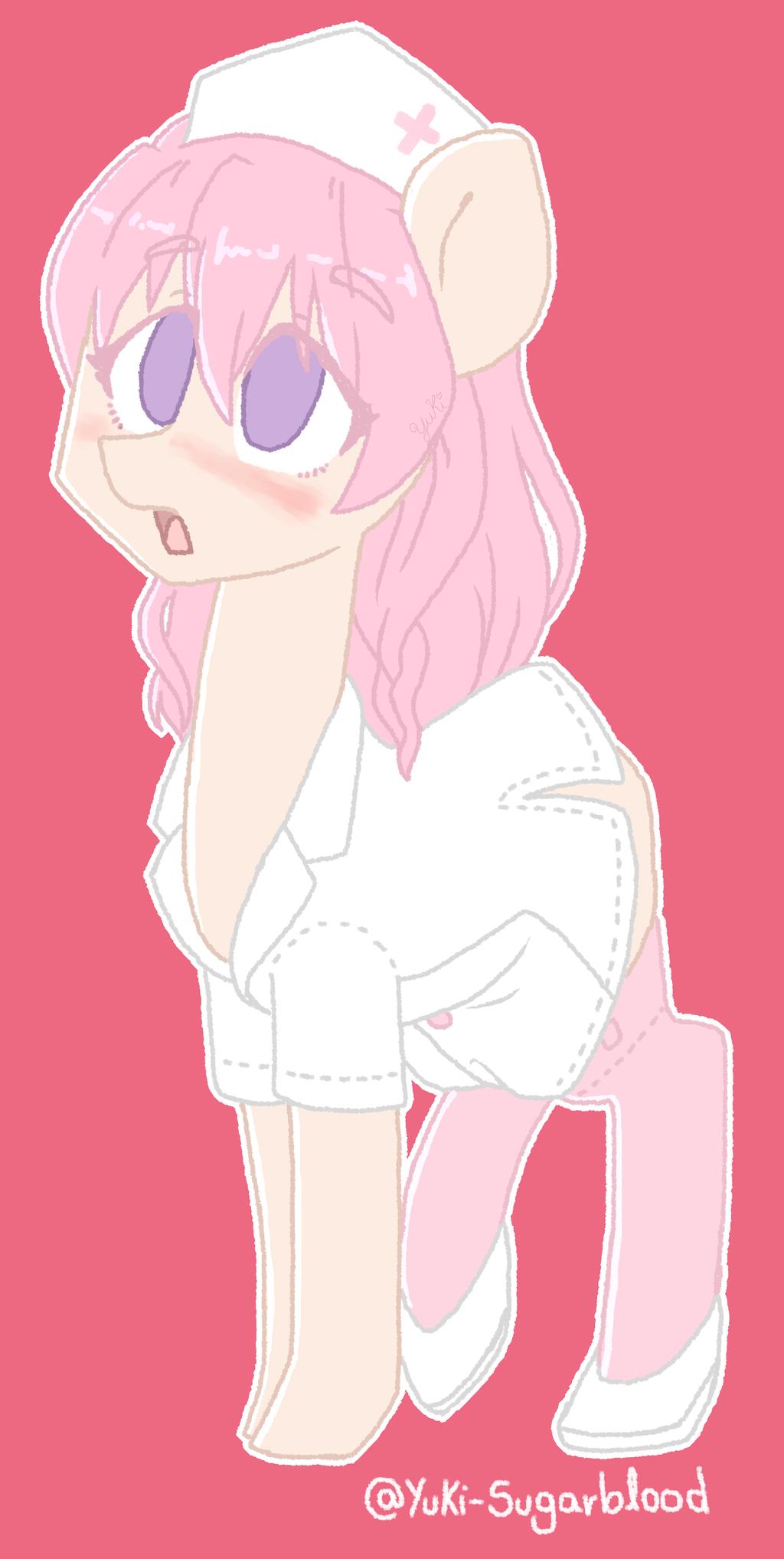 My Little Yandere Muja Kina Ponified By Yuki Sugarblood Mlp