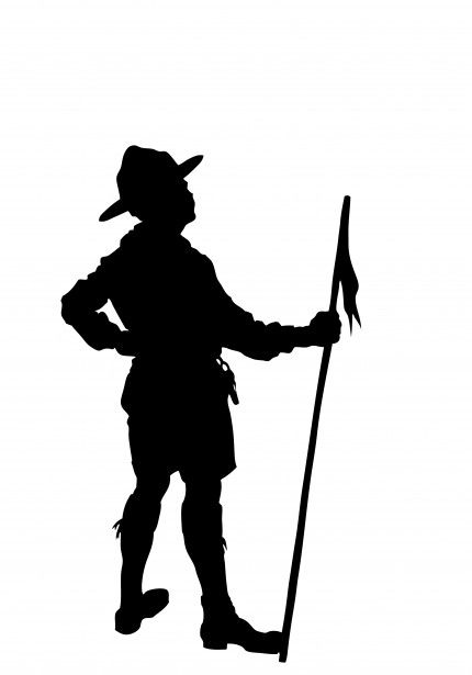 Clip Art Boy Scout - Boy Scout Of The Philippines Background, HD Png  Download - kindpng