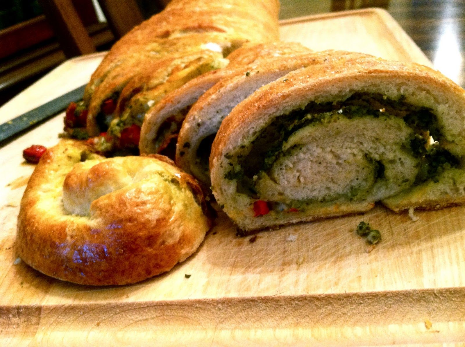 Learning to see: Pepperoni, Provolone, and Pesto Stromboli