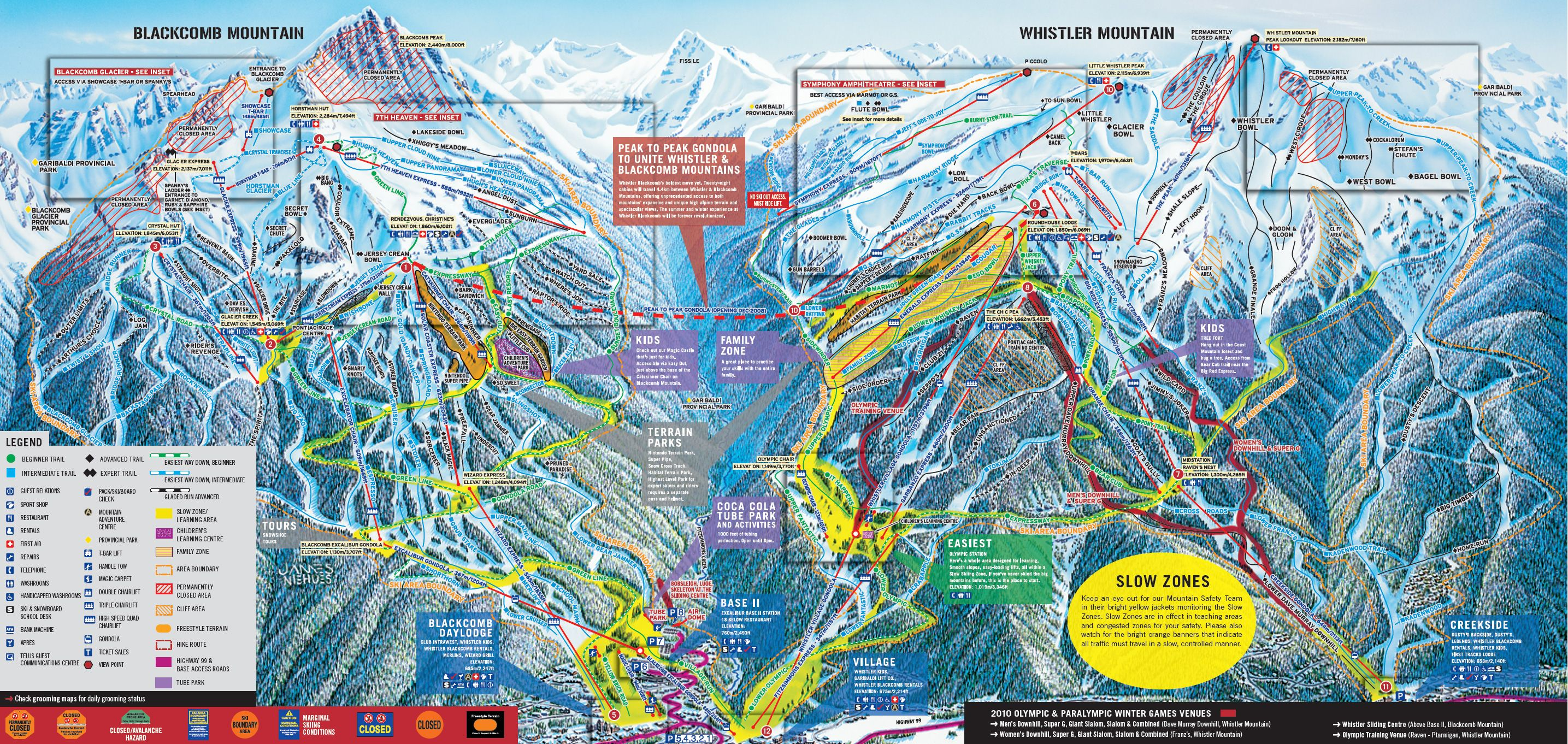 Whistler blackcomb trail map winter pinterest trail maps whistler blackcomb trail map gumiabroncs Gallery