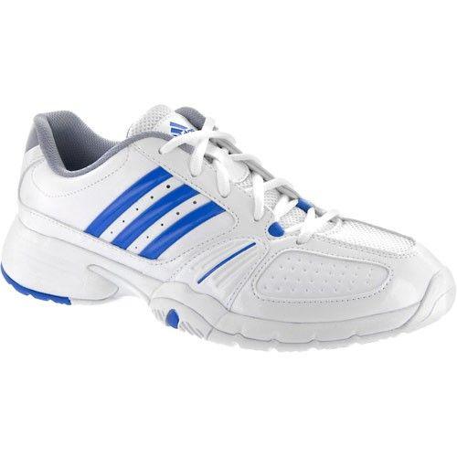 buy popular d18b4 4f9a3 adidas Barricade Team 2 Lady WhiteBlueSilver  Tennis Shoes - Womens  Shoes