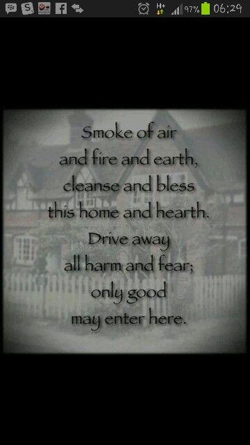 Home Cleansing With Images Smudging Prayer Cleansing Prayer Home Protection