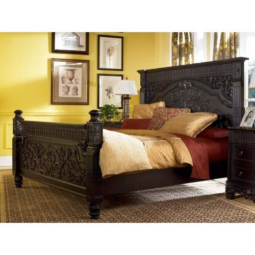 Britannia Rose King Panel Bed By Ashley Furniture Home With