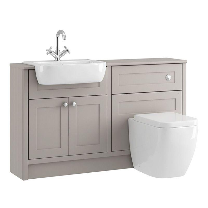 Shades Bathroom Vanity Unit Toilet Package Breeze Shaker