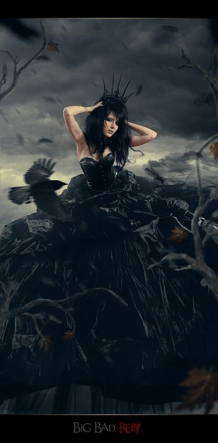Black Queen By Irina Istratova Fairytale Photography Fantasy