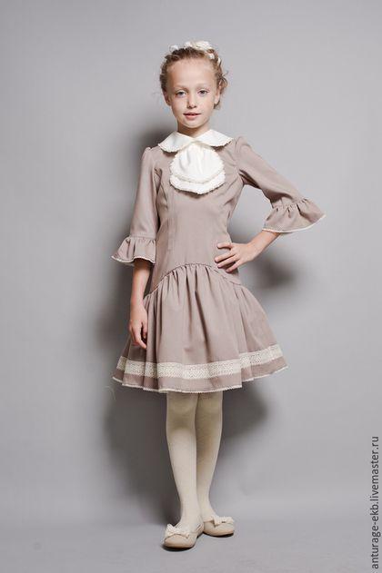 6fc001c9b3d Платья ручной работы. Ярмарка Мастеров - ручная работа. Купить Платье для  девочки. Handmade. Однотонный