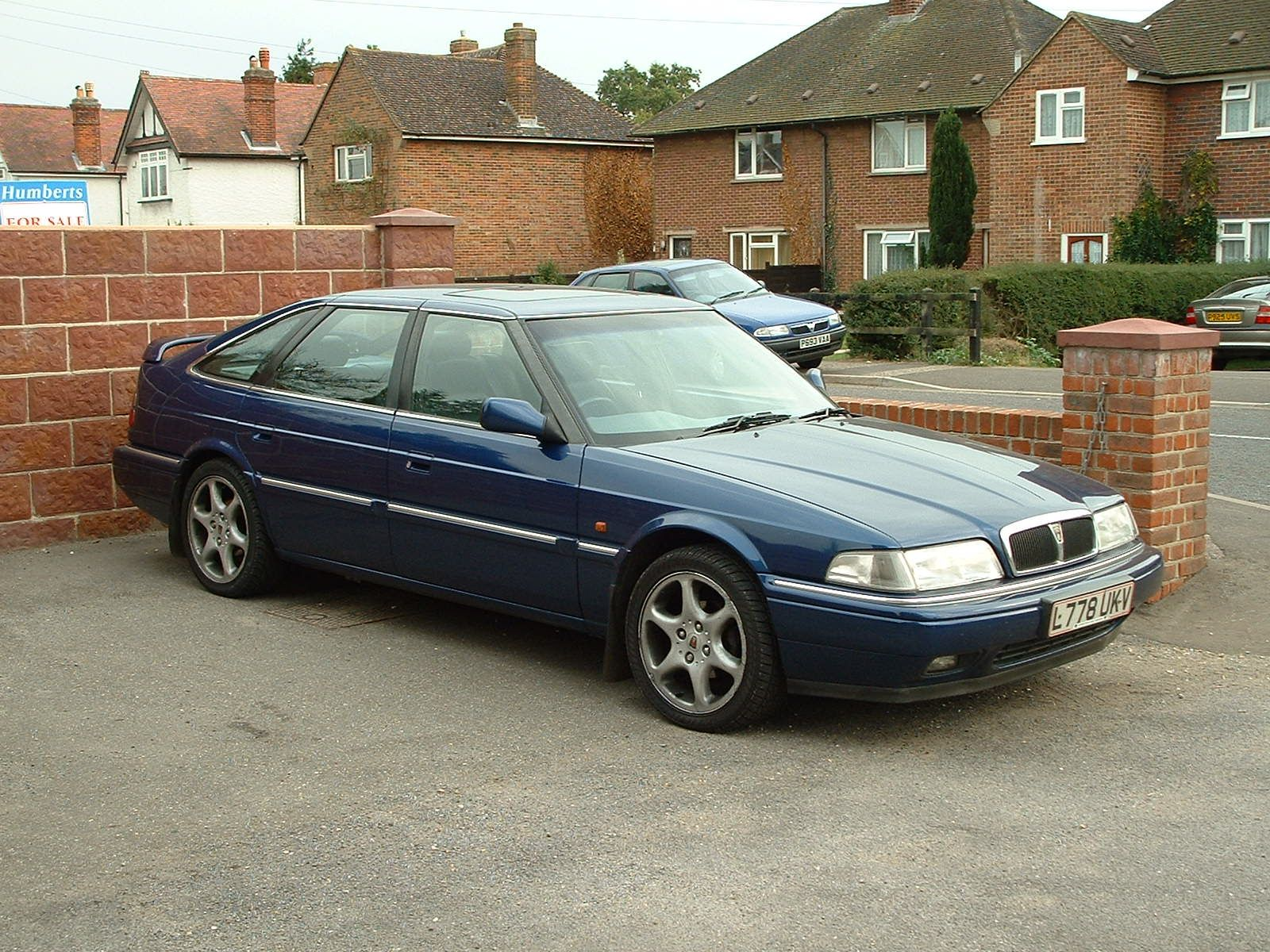 Rover 820 Vitesse Sport Fastback (owned). Great car this