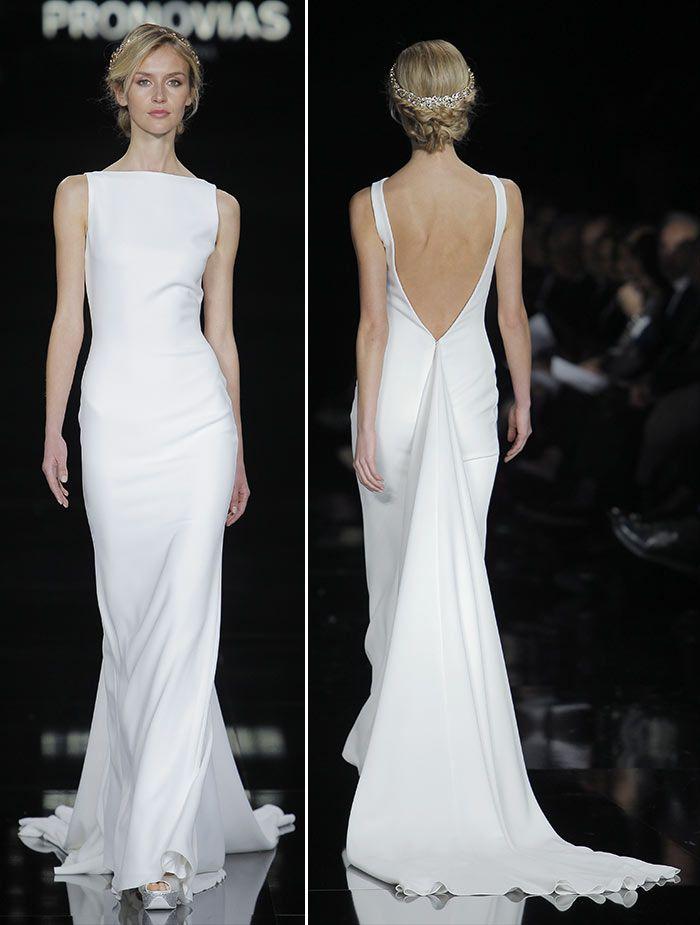 Vestido de noiva - Pronovias minimalista