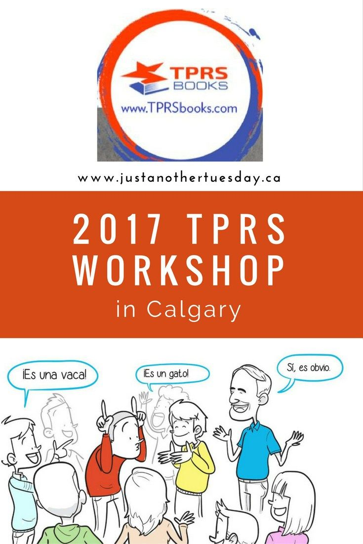 This summer there will be another TPRS workshop in Calgary, Alberta ...