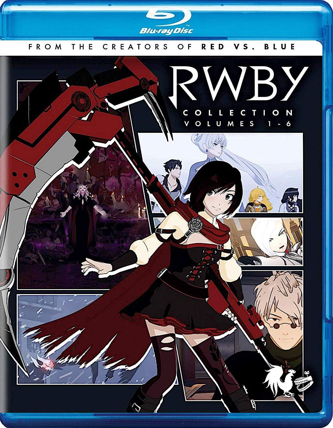 RWBY COLLECTION VOLUMES 16 BLURAY SET (CINEDIGM) Blu