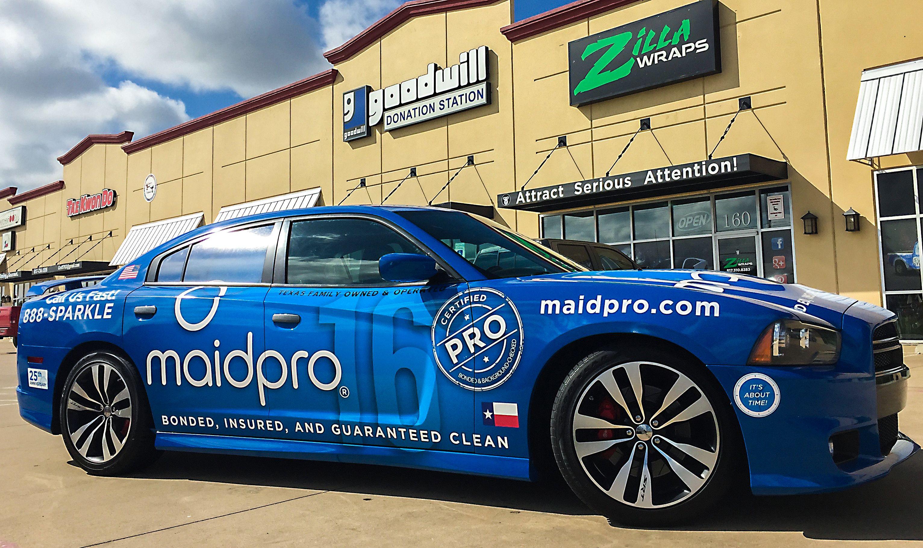 Maid Service Wrap on Charger | Car Wraps | Pinterest | Car wrap ...