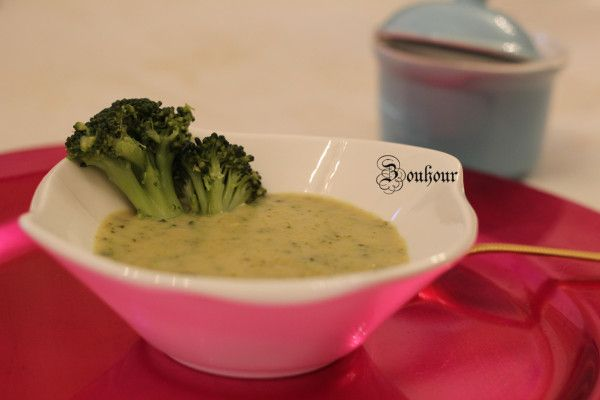 VELOUTE DE BROCOLI, BROCOLI SOUP | Velouté brocolis
