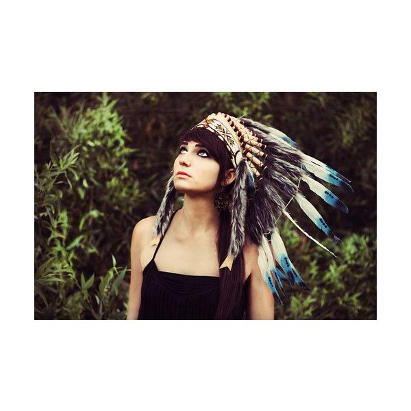 indian headdress | Tumblr found on Polyvore