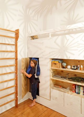 Loft Bed Storage Activity Center Secret Passages