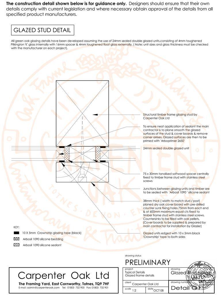 Timber frame glazing   Details-Windows/Wall   Pinterest   Carpenter ...