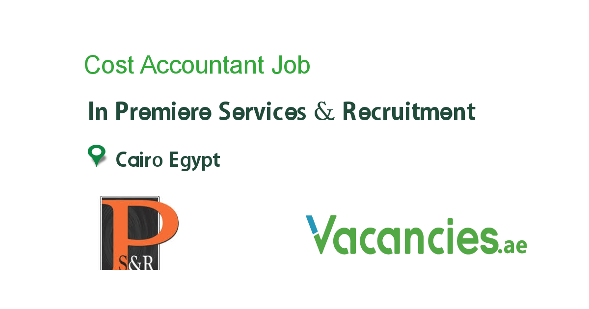 Cost Accountant Accounting Jobs Job Site Manager