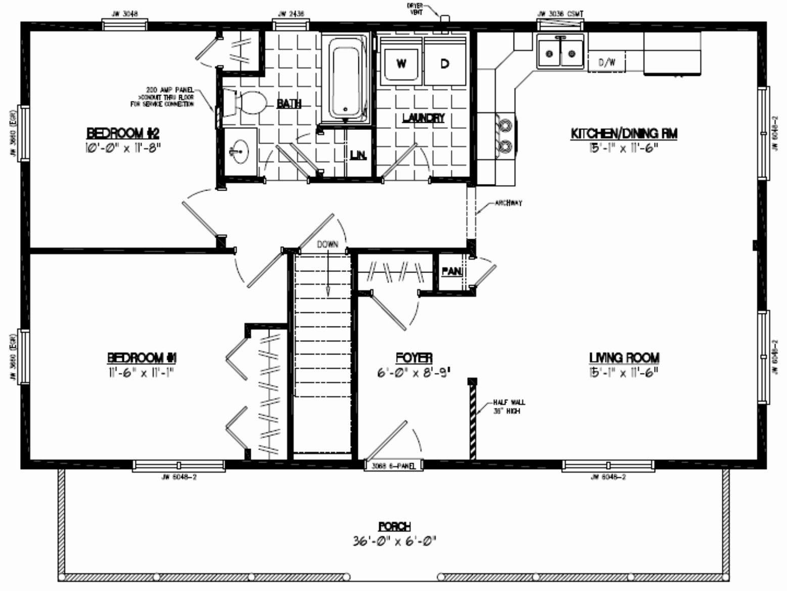 30 X 40 2 Story House Floor Plans Elegant 24 Nikura Lovely 1 Bedroom House Plan With Loft Cabin Floor Plans Barndominium Floor Plans