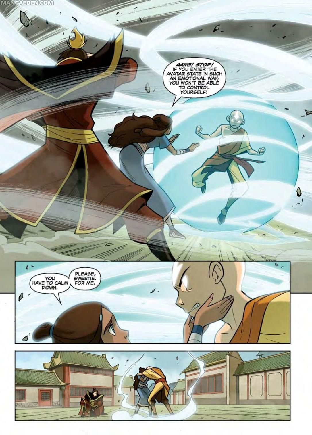 Manga Avatar: The Last Airbender - The Promise - Chapter 1 - Page 54