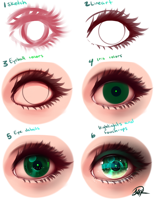 Anime Eyes By Tumblr Drawing