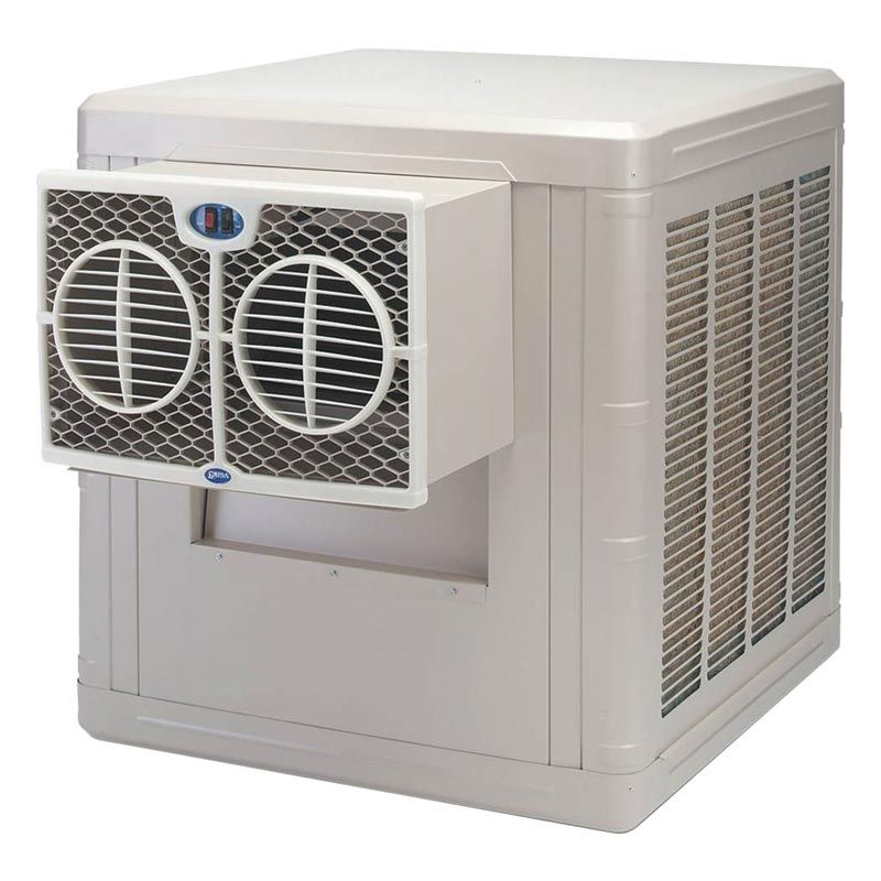 Evaporative ThroughWall Cooler 3,000 CFM Growers