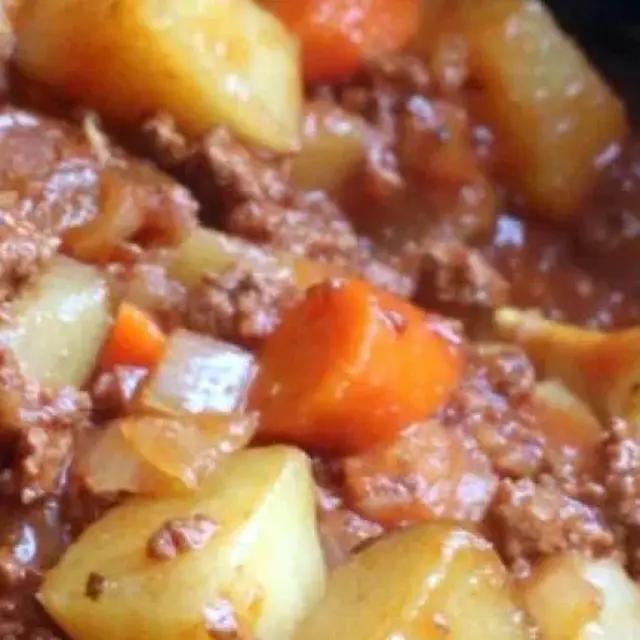 Poor Man S Stew Recipe Yummly Recipe Slow Cooker Recipes Beef Ground Beef Stews Poor Mans Stew