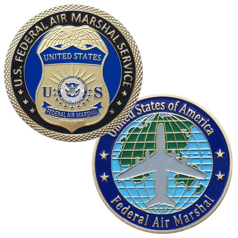 Senior Federal Air Marshal Service Challenge Coin
