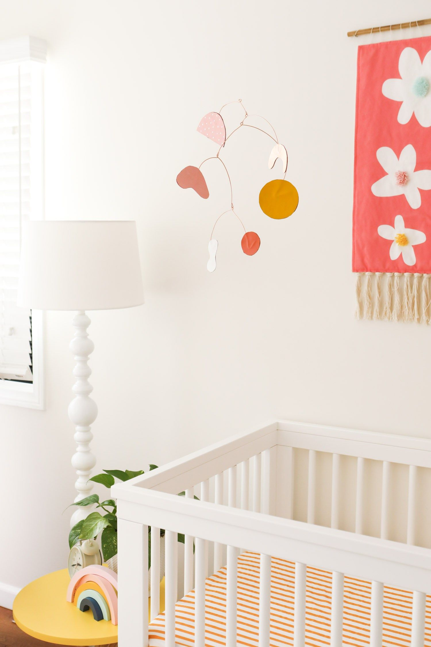 Diy Modern Baby Crib Mobile Sarah Hearts Modern Baby Cribs