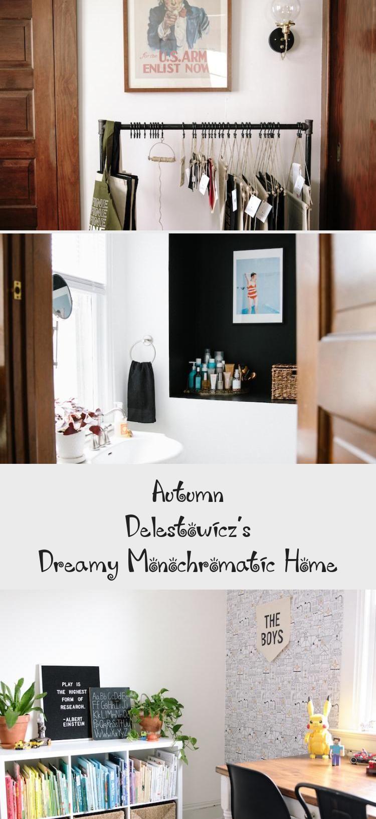 Dreamy Monochromatic Home Decor