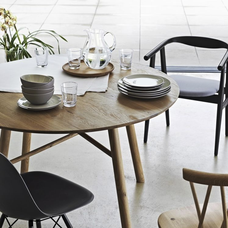 Mismatched Chairs Give Style To A Dining Space But Work Best When