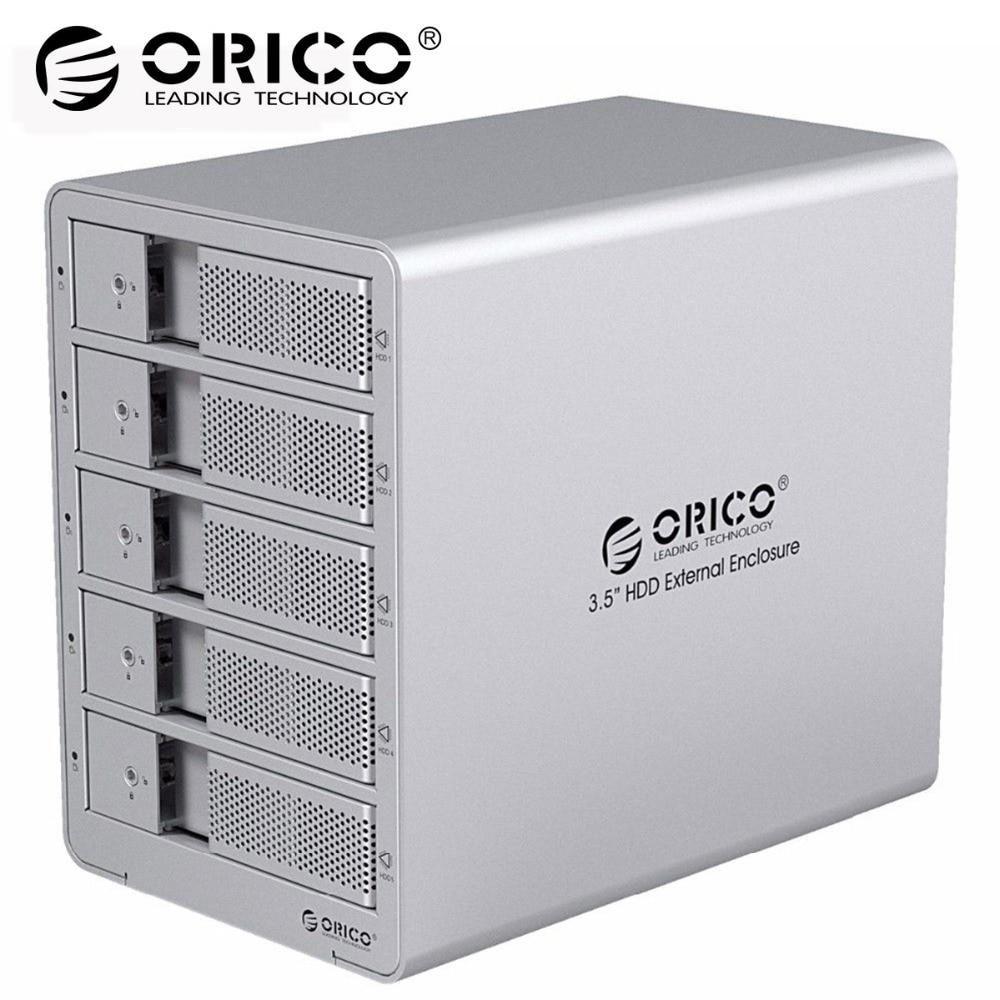 Orico Toolfree Usb 3.0 To Sata External 3.5 Hard Drive Enclosure Case
