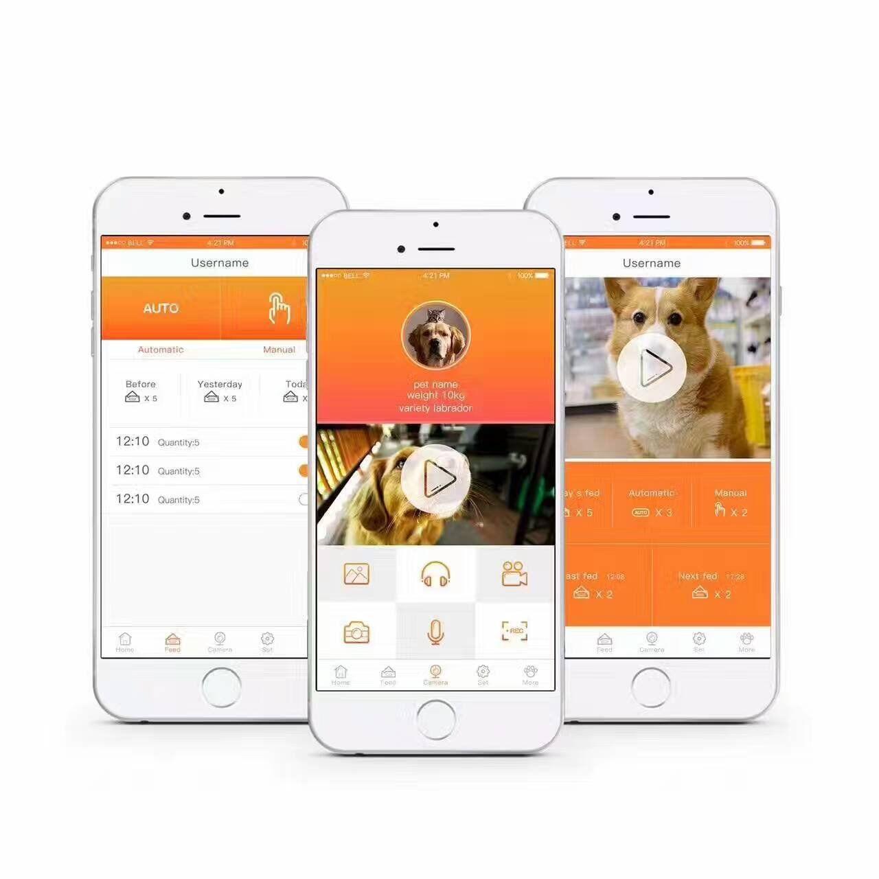 WenandCheng Automatic Pet Feeding Machine Timer Smart