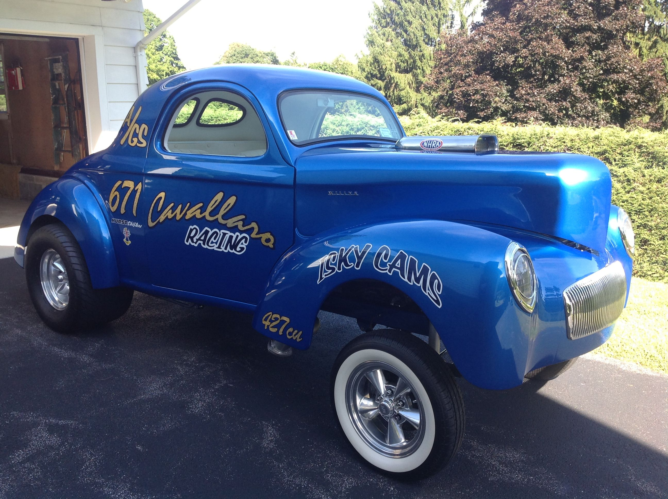 Willys Coupe Gassers | 1941 Willys Coupe Gasser, for sale in Lake ...