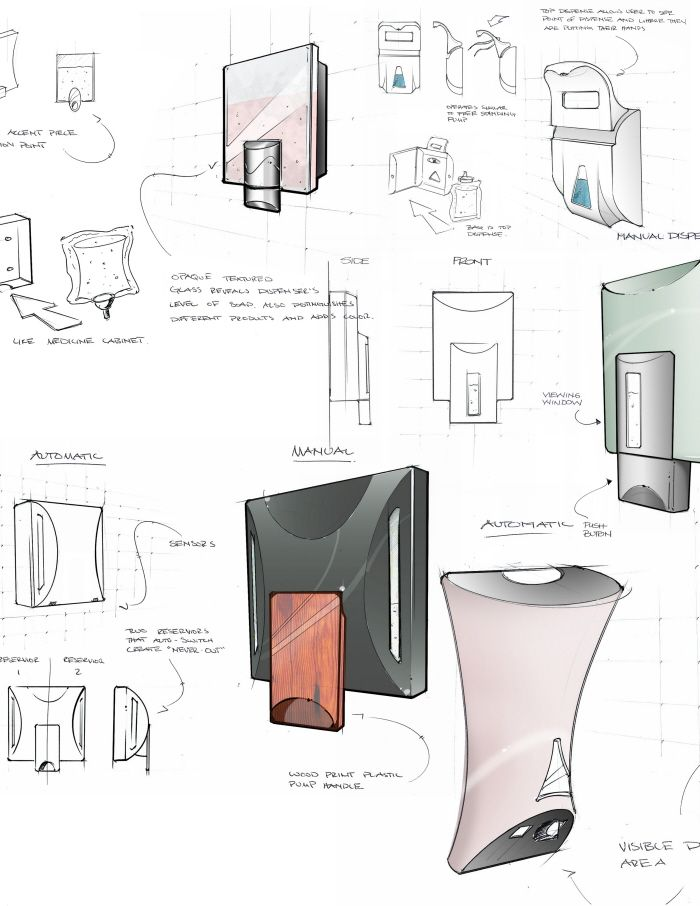 Soap Dispensers By Andy Hamilton At Coroflot Com Soap Dispenser
