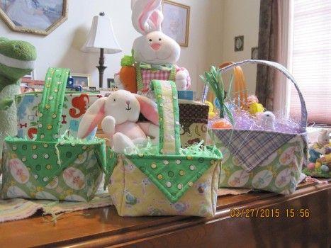 DIY Fabric Easter Basket- Video Tutorial