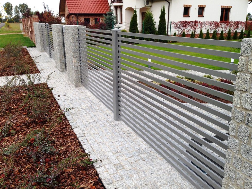 Aluconcept New Line Of Our Aluminium Fencings Modern