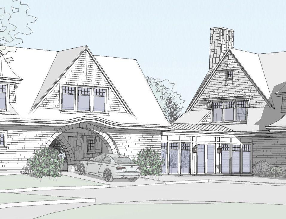 Closed In Breezeway House Plans Breezeway Design