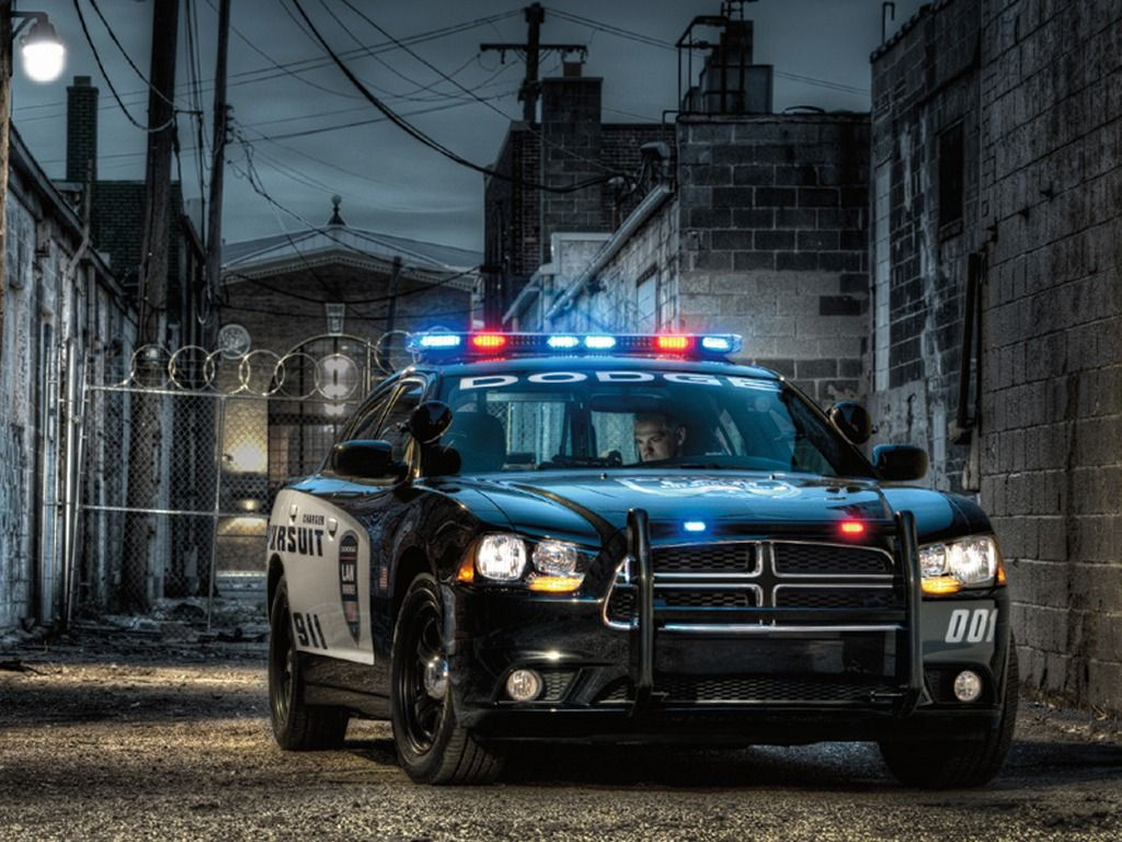 Dodge Charger Police Car Wallpaper Pictures