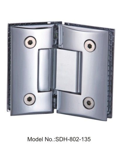 135 Degree Shower Door Hinges For 5 16 To 1 2 Tempered Safety Glass Sdh 802 135 Glass Hinges Shower Doors Safety Glass