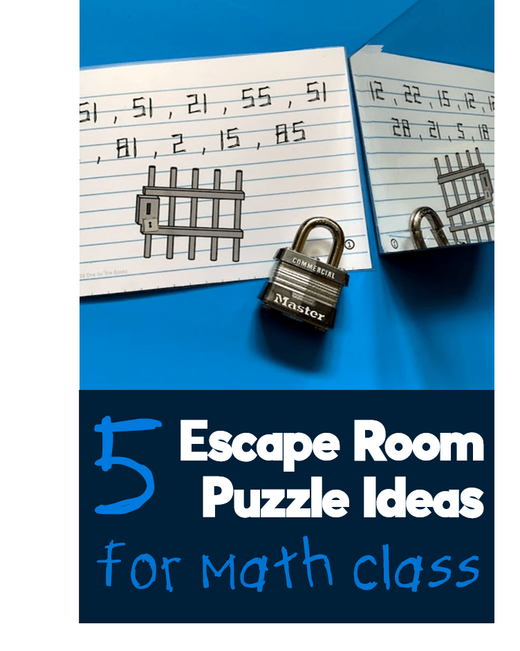 Five clever ways to upgrade any math escape room | Math ...