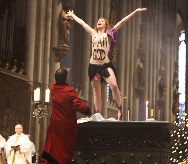 Josephine Witt - FEMEN