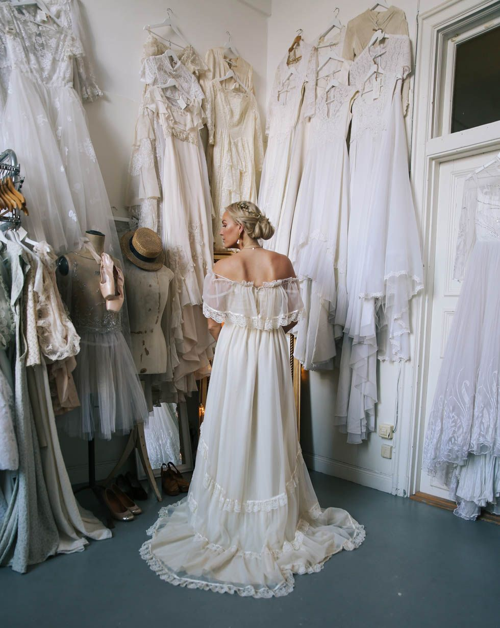 abbbc12706f1 Elsa-Billgren-Vintage-Bröllop- | Wedding inspo in 2019 ...