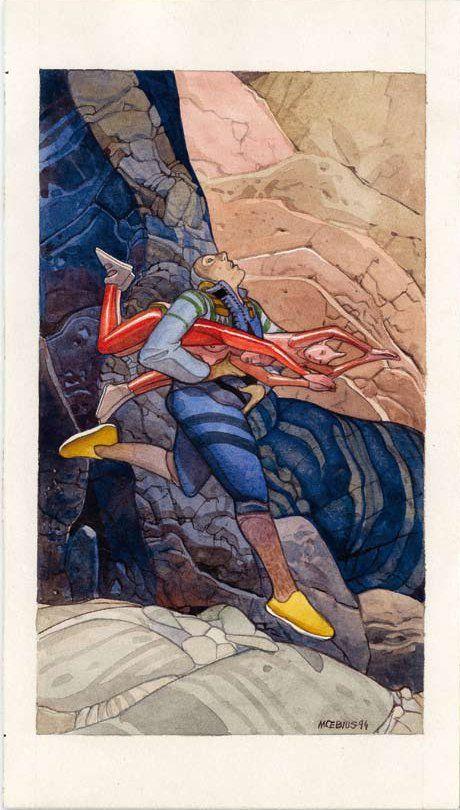 Edena, 1994 - Tiré du portfolio Rumbas édité par Stardom Moebius